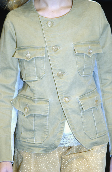 Undercover at Paris Spring 2004 (Details)
