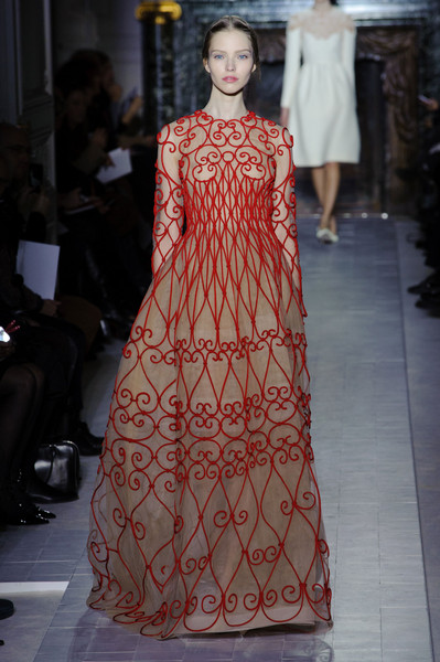 Valentino at Couture Spring 2013