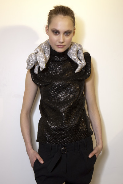 Véronique Leroy Fall 2009 - Backstage