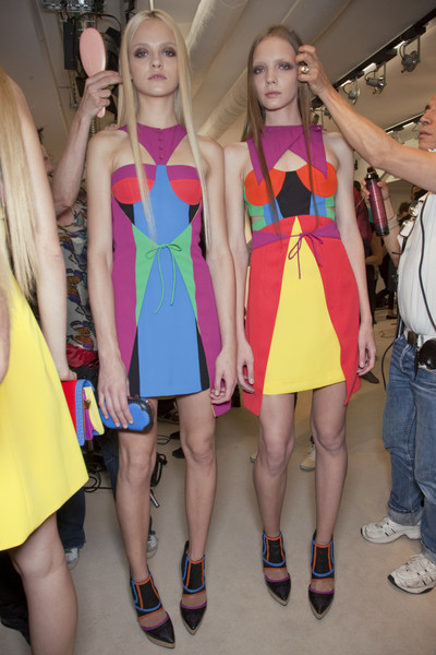 Versus at Milan Spring 2011 (Backstage)