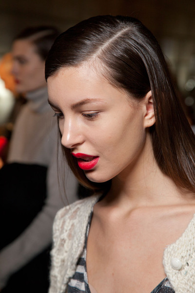 Victoria Beckham Fall 2012 - Backstage