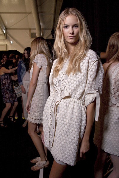 Vivienne Tam at New York Spring 2011 (Backstage)