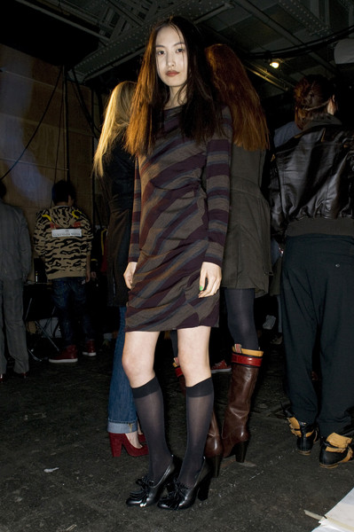 Vivienne Westwood Red Label at London Fall 2009 (Backstage)