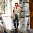 Look of the Day, April 7th: Blair Eadie's Spring Trench