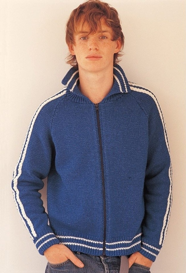 'Les Mis' Hottie Eddie Redmayne Used to Model Sweaters for Knitting Books [PHOTOS]