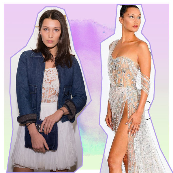 Model Behavior: Bella Hadid's Style Transformation