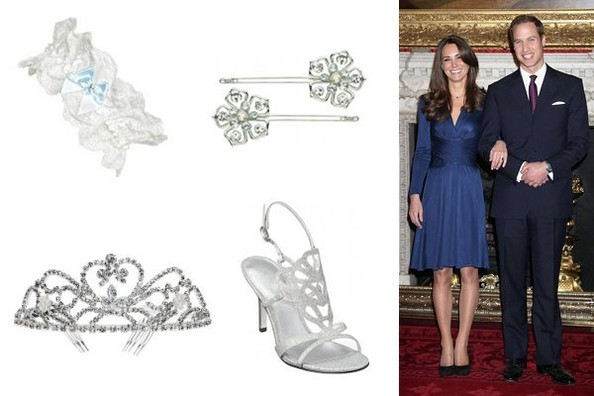 Budget Bridal Accessories, Royal Style