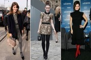 Celebrity-Inspired Ways to Wear Tights This Holiday Season