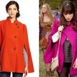 Zooey Deschanel's Pink Cape on 'New Girl'