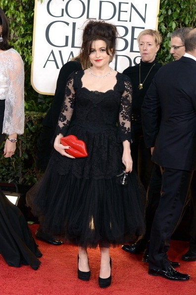 Helena Bonham Carter at the 2013 Golden Globes