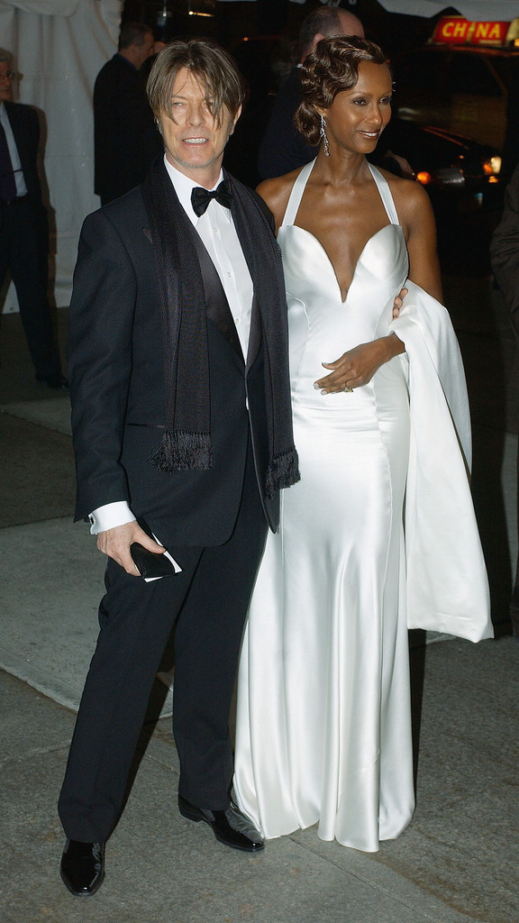 David Bowie at the Costume Institute Gala in 2003