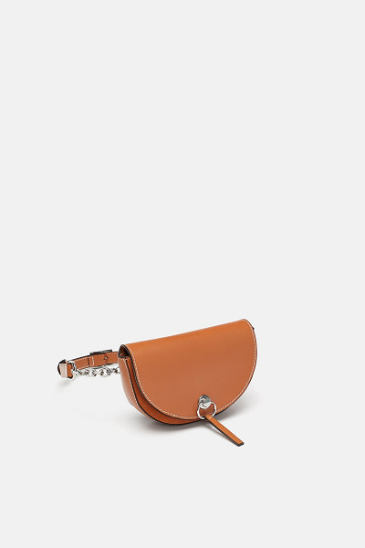 Zara: Contrasting Leather Belt Bag