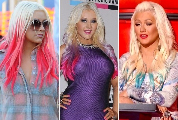 Christina Aguilera Changed Her Hair Color... Again