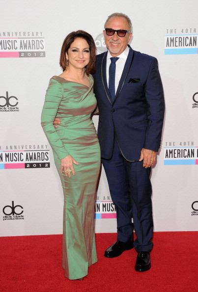 Gloria Estefan at the 2012 AMAs