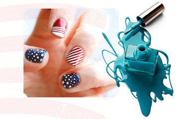Patriotic Nails to Celebrate the 4th of July