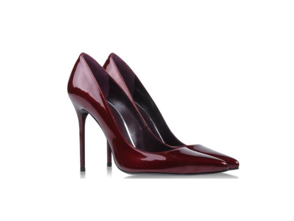 Sexy Shoe Trend: Wine Colored Pumps