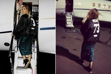 Found: Beyoncé's Sporty Bomber Jacket