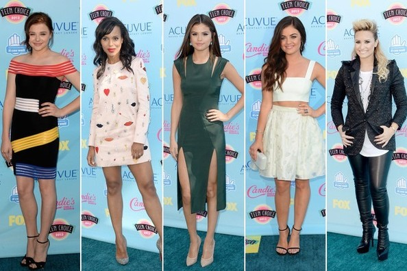 The Best Dressed at the 2013 Teen Choice Awards