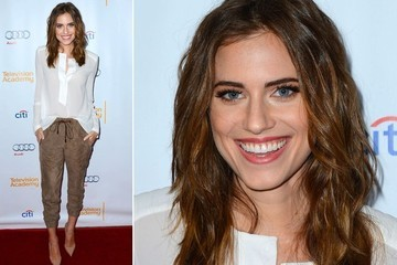 Allison Williams Makes Neutrals Pop
