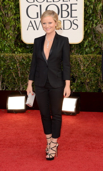 Amy Poehler Wears Stella McCartney at the 2013 Golden Globes
