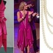 Katherine Jenkins' Fuchsia Flapper Dress on 'Dancing with the Stars'