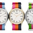 A Colorful, Summer-Ready Ribbon-Band Watch