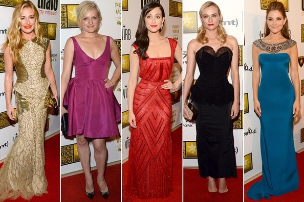 Best Dressed at the Critics' Choice Television Awards