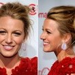Blake Lively's Tousled Updo