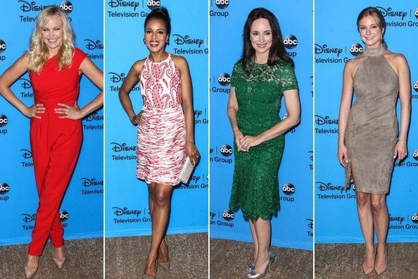 The Best Dressed at ABC's TCA Party
