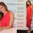 Look of the Day: Eva Mendes Glows in Coral