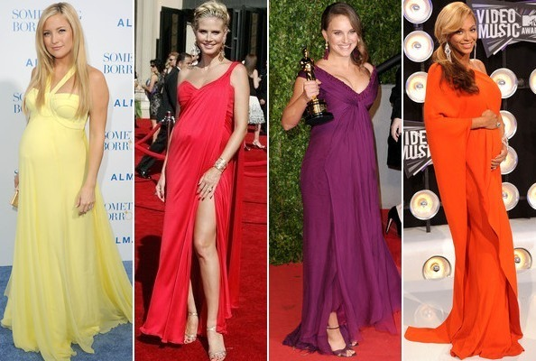 The Best Red Carpet Maternity Wear - StyleBistro