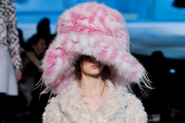 Mad Hatter: Marc Jacobs Fall 2012