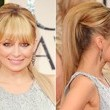 Nicole Richie's Fancy Faux Ponytail