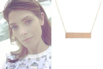 Found: Ashley Greene's Engraved Necklace
