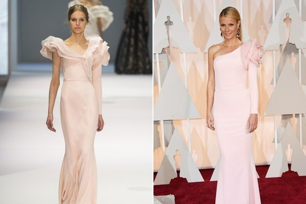 Gwyneth Paltrow in Ralph & Russo Spring 2015 Couture