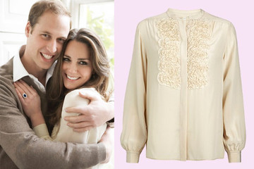 Whistles Reissues Kate Middleton's Engagement Blouse