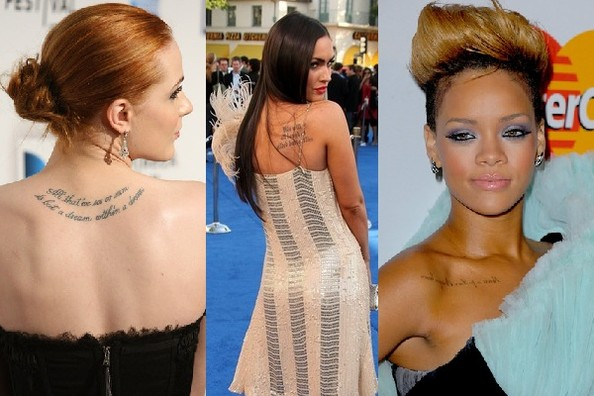 The Best and Worst Celebrity Tattoos