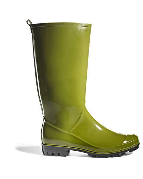 Lime Green Rain Boots