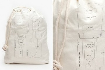 StyleBistro STUFF: Anatomy of a Shirt Laundry Bag
