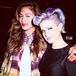 Nicole Scherzinger and Kelly Osbourne Kick It