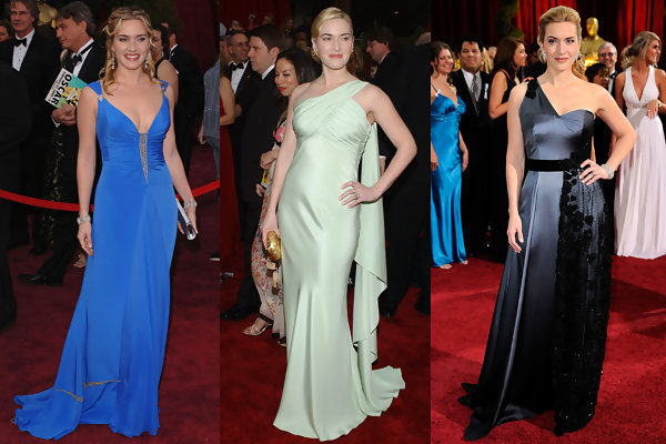 Kate Winslet - Oscar Gowns Throughout the Years - StyleBistro