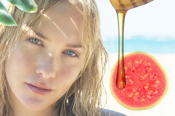 This DIY Guava and Honey Hair Mask is as Sweet as it Sounds