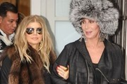 OMG Cher and Fergie are Friends - Shopping Photo Evidence Here