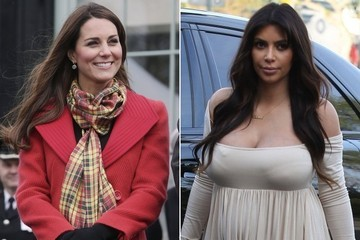 SUPER LOL - Kim Kardashian Sent Kate Middleton a Baby Gift, Guess What it Was?