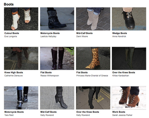 Rules of Thumb for Boots with Skirts