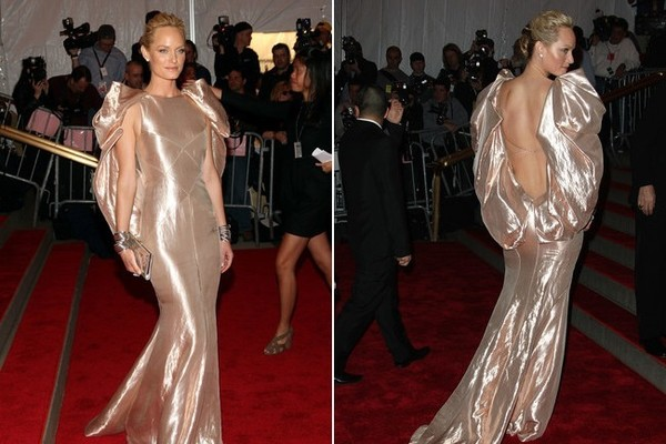 Amber Valletta In Atelier Versace, 2008