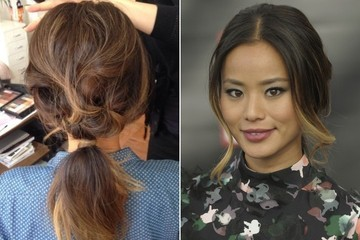 Look to Try Right Now: Jamie Chung's Brigitte Bardot–Inspired Ponytail