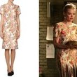 Jaime King's White Floral Short-Sleeved Dress on 'Hart of Dixie'