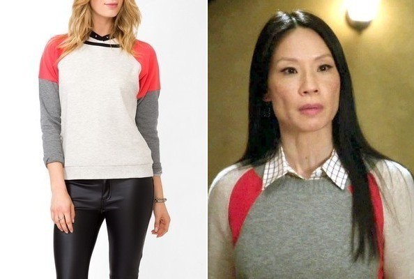 Lucy Liu's Sweater on 'Elementary'