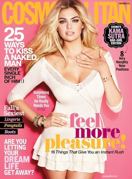Kate Upton Covers 'Cosmopolitan'